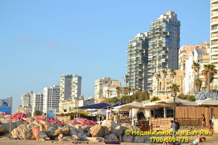 Пляжи города Бат Ям